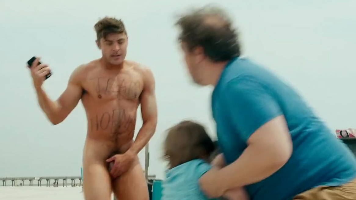 Zac efron gets naked for dirty grandpa poster entertainment focus