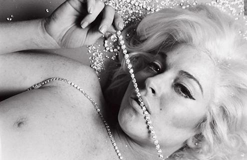 Hot Lindsay Lohan Marilyn Monroe Nude Gif