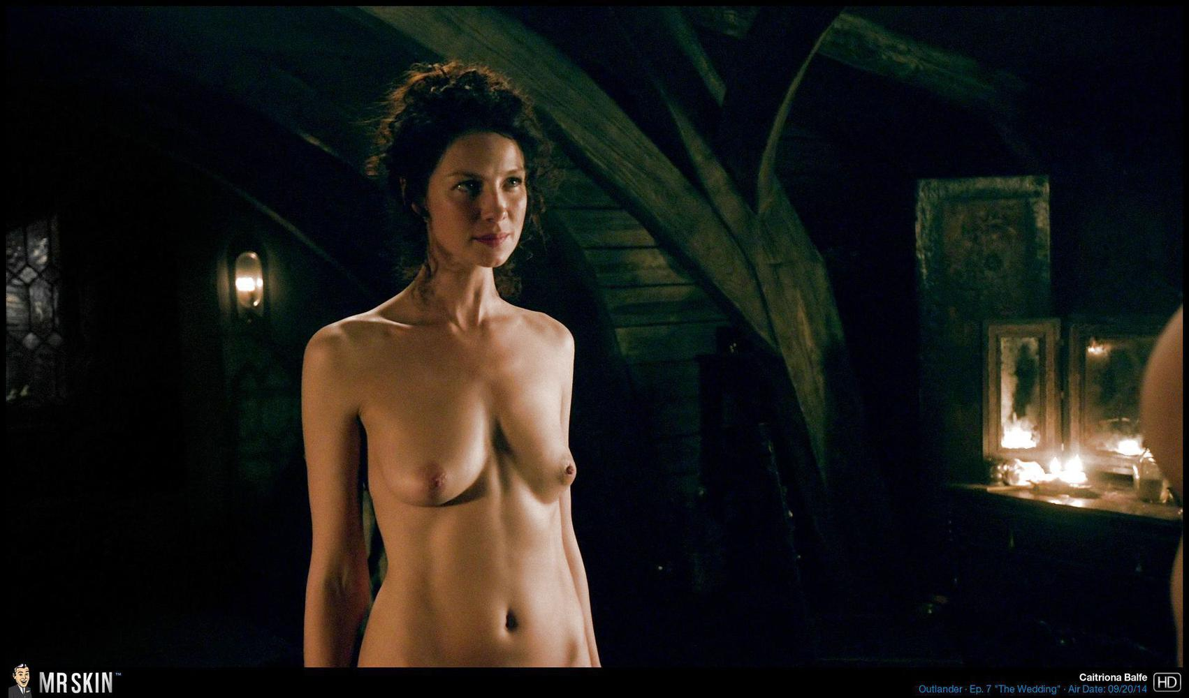 Caitriona balfe and lotte verbeek nude outlander s01e10 6