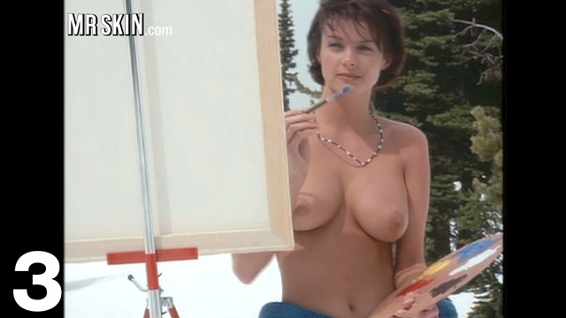 Huge fun bags naked tits at the farm
