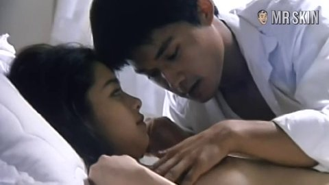 Blonde nude vivian hsu on beach men