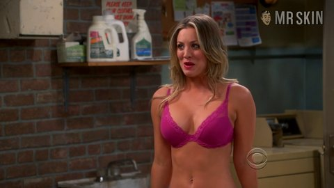 the girl off of the big bang theory naked